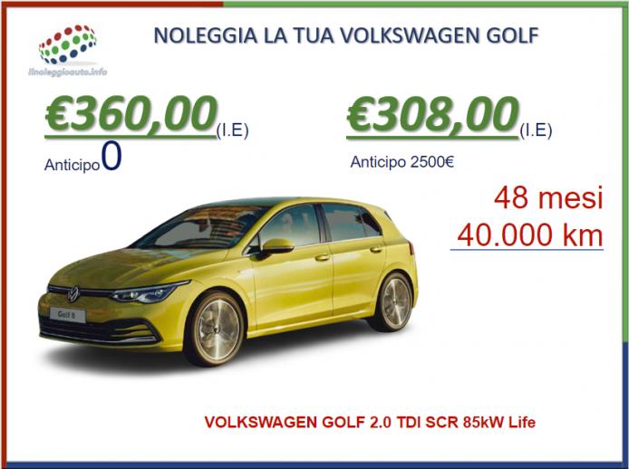 Volkswagen Golf: segmento c per definizione